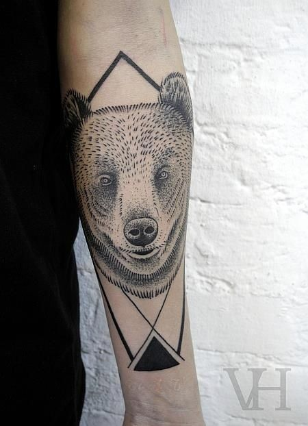 Bear Tattoo Images & Designs