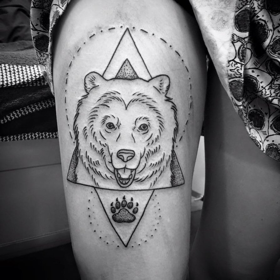 Tattoo Drawings: Bear Tattoo Images & Designs