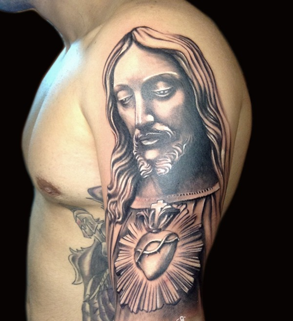 Tattoo Designs Jesus: Jesus Tattoo Images & Designs
