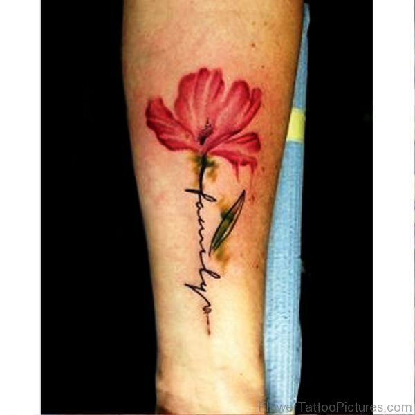 Flower Tattoo With Names: Orchid Tattoo Images & Designs