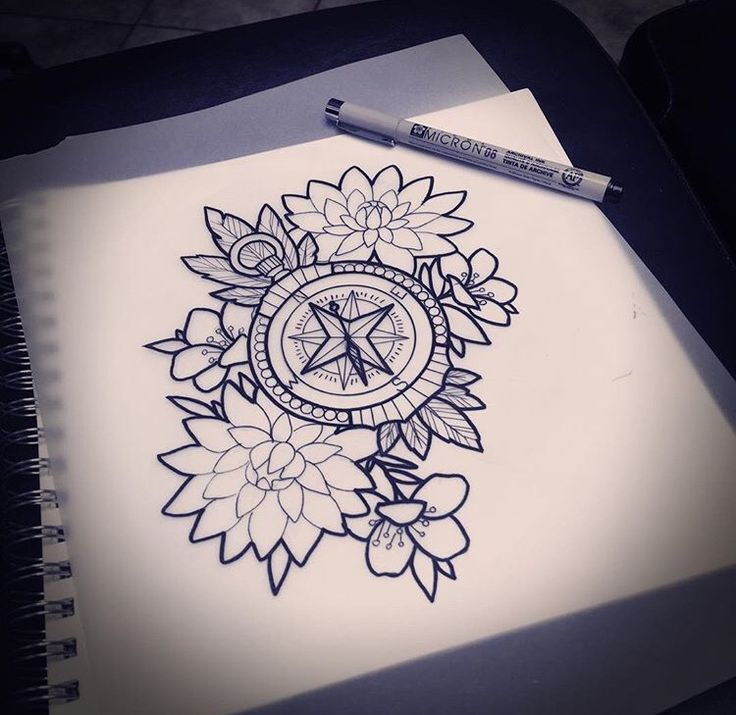 Lotustattoo Flower Forearm