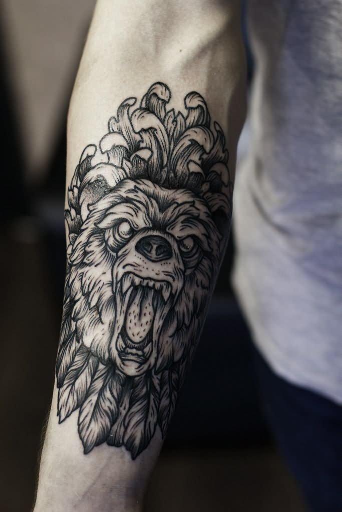 Bear Tattoo Images &am...