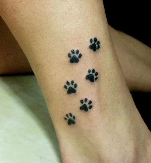 Paw Tattoo Images & Designs
