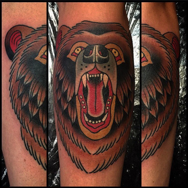 Nordic bear tattoo  Tattoo Collection