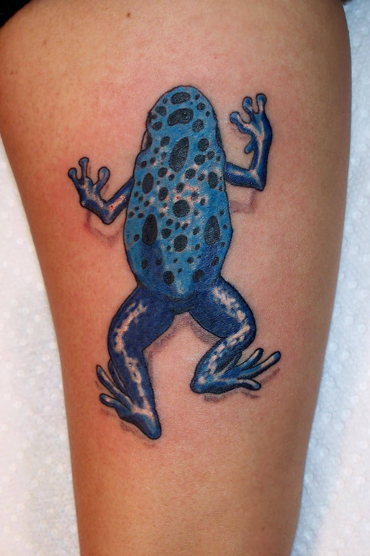 Traditional Frog Tattoo