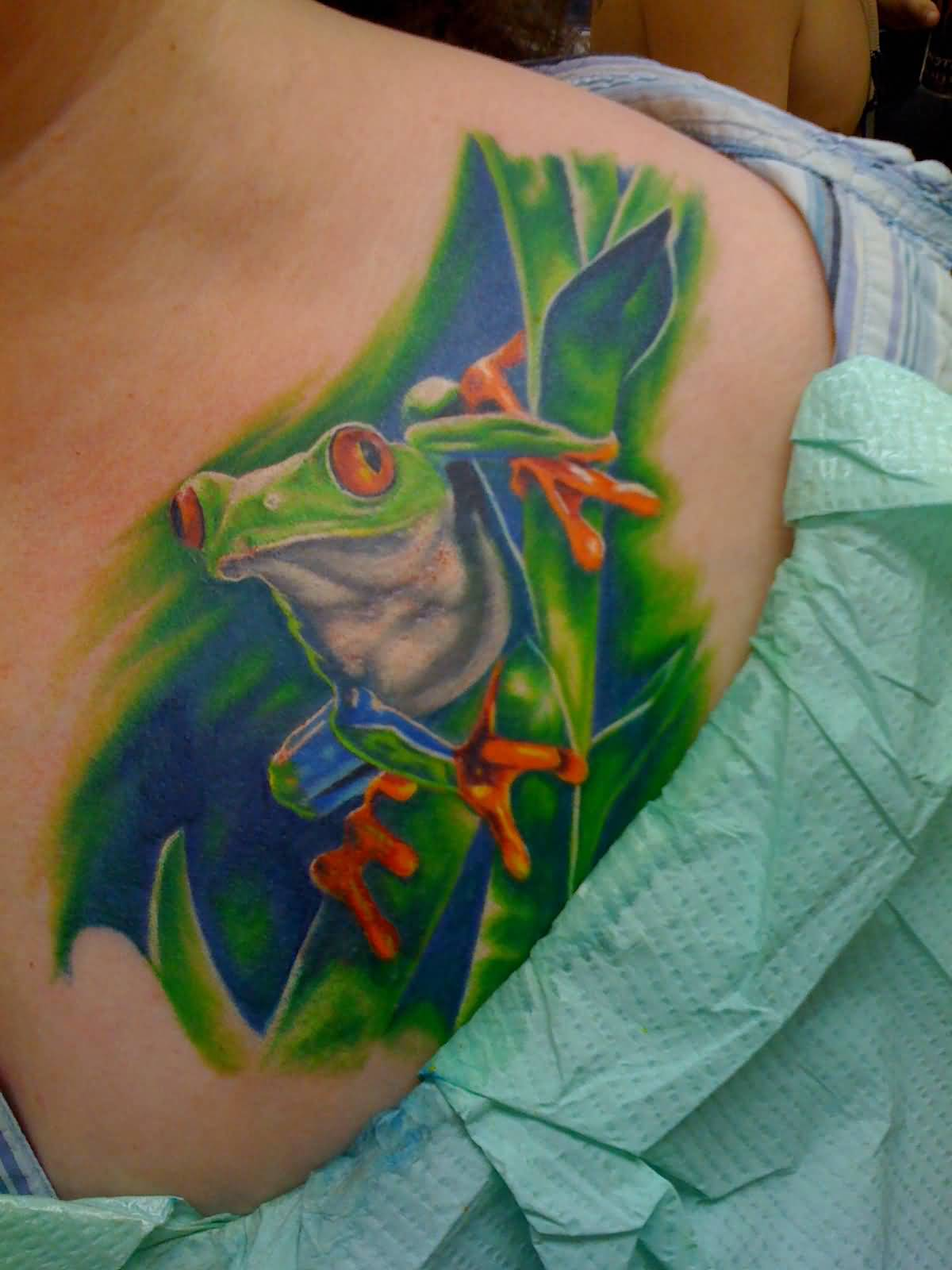 Frog Tattoo Images Amp Designs