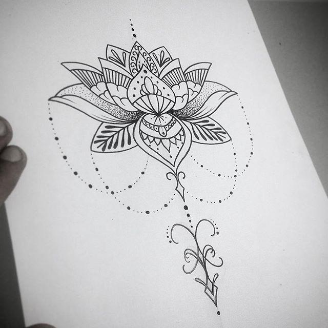Flower Tattoo Sample
