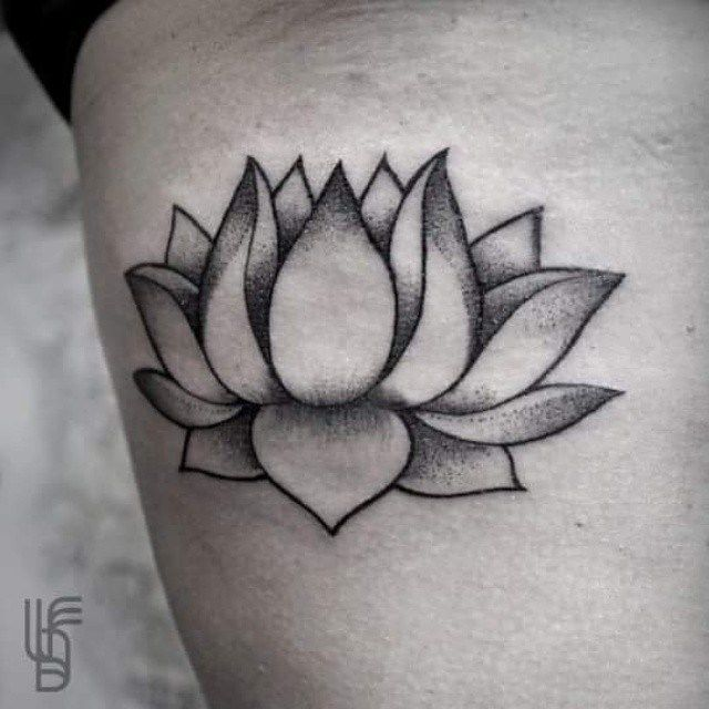 Lotus Tattoo Images & Designs
