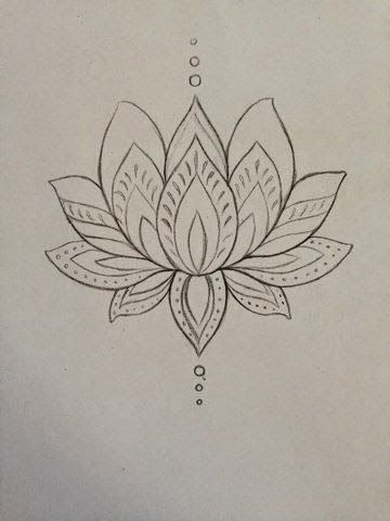 Outline lotus flower tattoo design outline lotus flower tattoo sample mightylinksfo Gallery