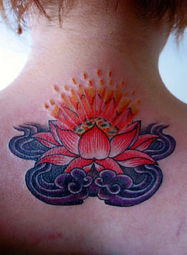 Upper back lotus flower tattoo ideas mightylinksfo