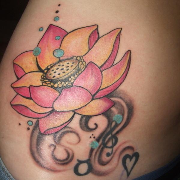 Imagenes Tatuajes Violin violin key and piano tattoo on left arm