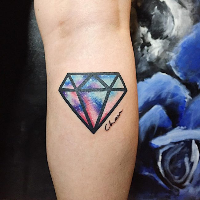 Diamond Tattoo Images Amp Designs