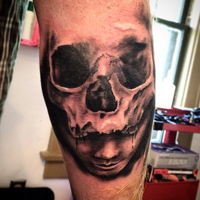 Elbow Tattoo Images Designs