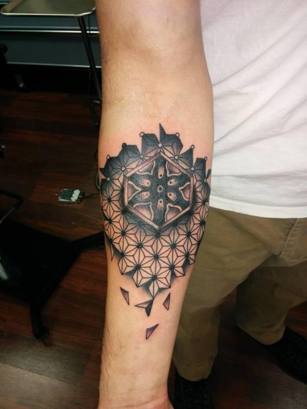 Inner Elbow Tattoo For Guys