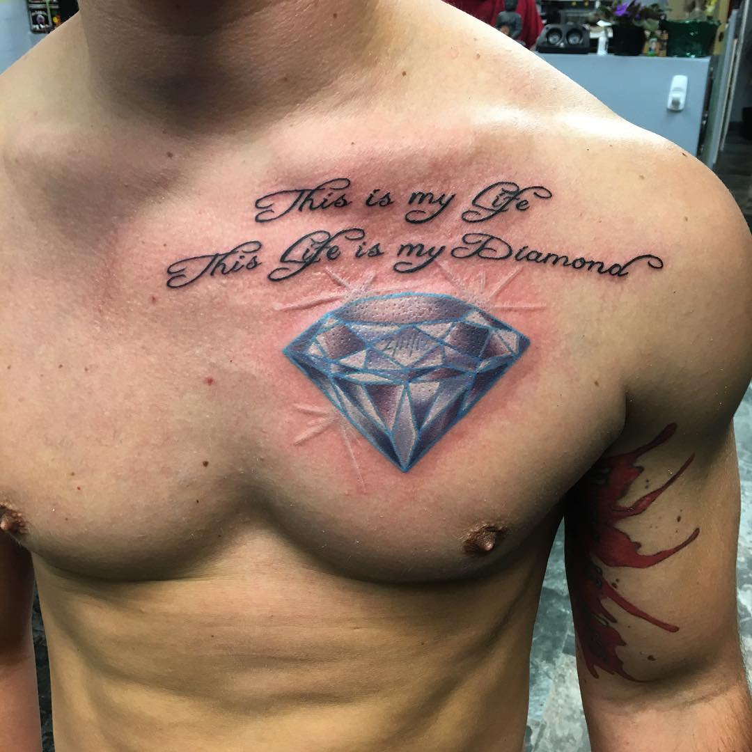 Diamond Tattoo Images &amp Designs