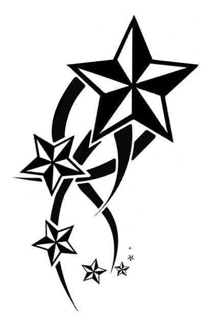 star tattoo images designs. Black Bedroom Furniture Sets. Home Design Ideas