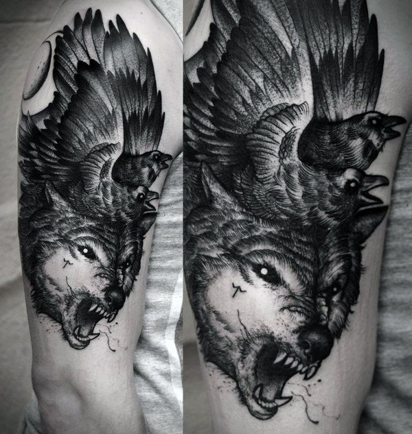 Wolf Tattoos Designs Ideas And Meaning: Wolf Tattoo Images & Designs