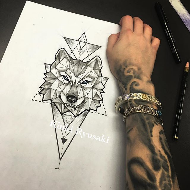 Best 25 Wolf Tattoos Ideas On Pinterest: Wolf Tattoo Images & Designs