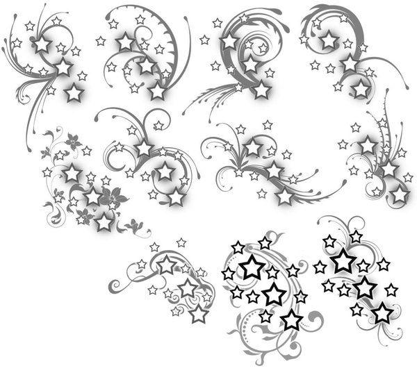 Small Stars Tattoos Designs