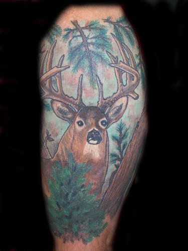 Big Deer Tattoo