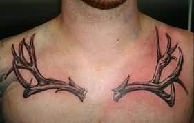 Deer Antler Tattoos