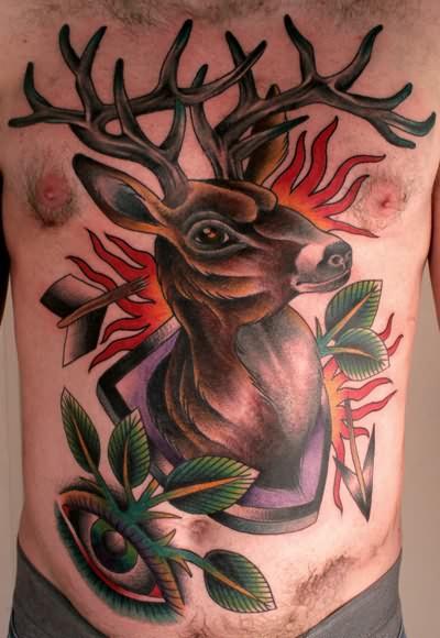 stag tattoo.