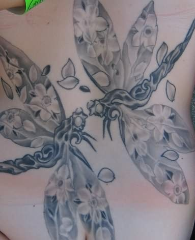 beautiful dragonfly tattoo. Black Bedroom Furniture Sets. Home Design Ideas