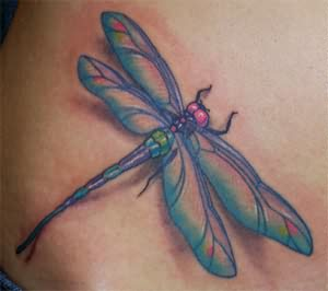 Hypothesis Dragonfly Tattoo