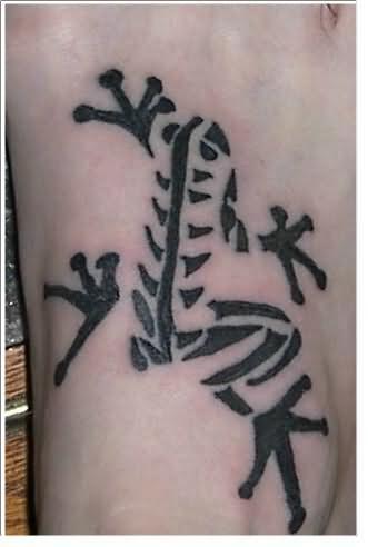 Frog Skull Tattoo