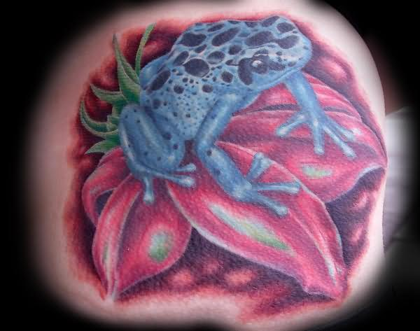 Com img src http www tattoostime com images 61 peace frog tattoo