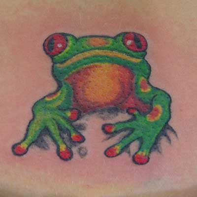 Tribal Tattoos Frog