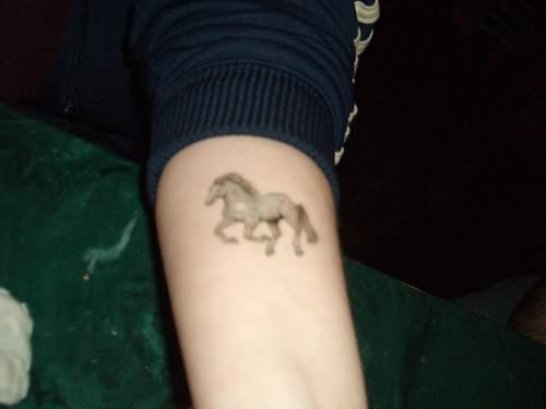 Jumping horse tattoo designs for Horse jumping tattoos
