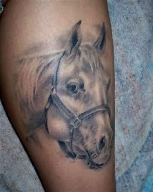 horse horseshoe tattoo images designs. Black Bedroom Furniture Sets. Home Design Ideas