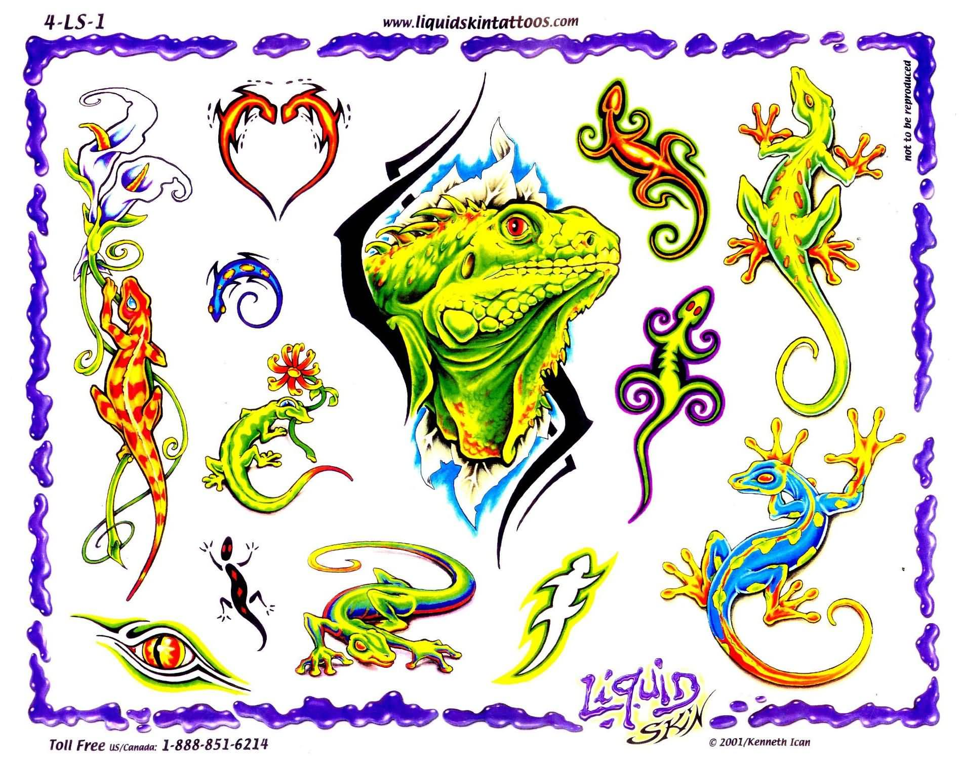 tattoo ideas for men lizard tattoos. Black Bedroom Furniture Sets. Home Design Ideas