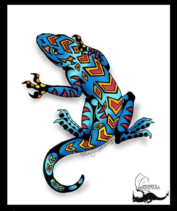 lizard tattoo images designs. Black Bedroom Furniture Sets. Home Design Ideas
