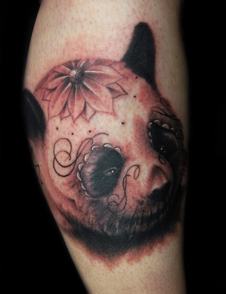 dead panda tattoo of the day. Black Bedroom Furniture Sets. Home Design Ideas