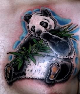 Wonderful Thinking Panda Tattoo