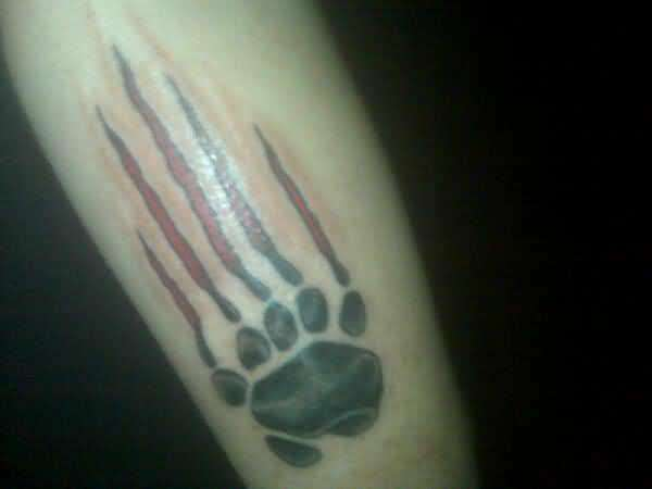 Scratch Tattoo...
