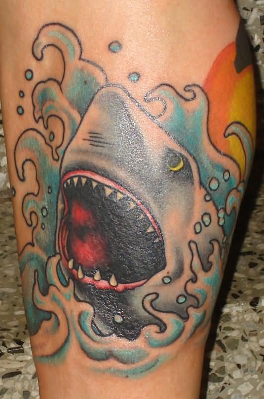 Pics photos awesome shark tattoo