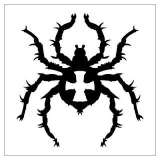 3f76f575f Spider Tattoo Tribal Design