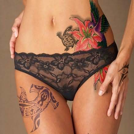 Turtle Tattoo For Girls