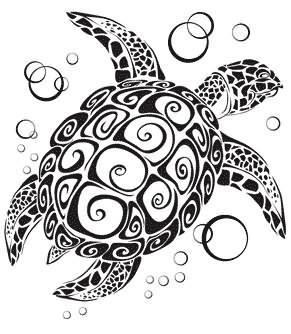Turtle Tattoo Images Designs