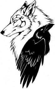 Pics Photos Black And White Wolf Tattoo