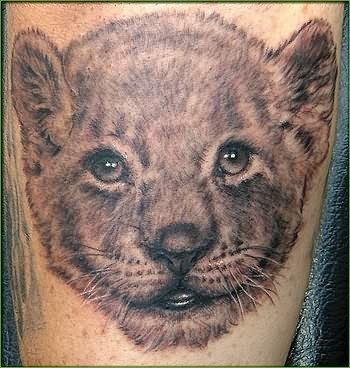 Lion tattoos page 3 for Lion and cub tattoo