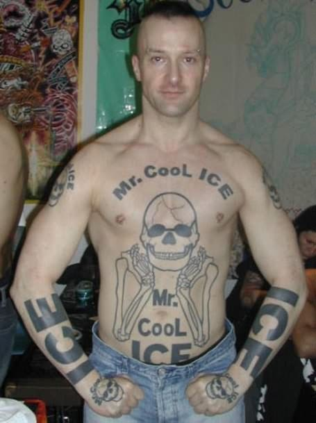 Mr. Cool Funny Tattoos