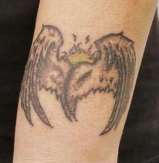 Angel Wings Tattoo On Arm