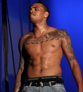 tattoos by chris brown chest brown also the inkings on his chest