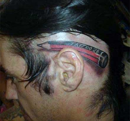 Picture of tattoo behind ear ideas