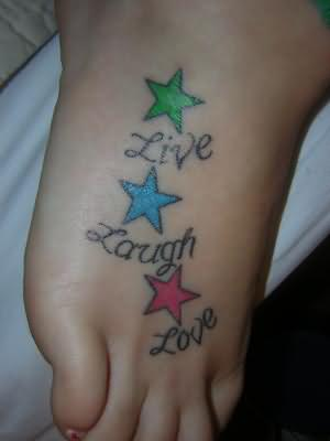 Live Laugh Love Pictures on Live Laugh Love Tattoo On Foot Similar Posts