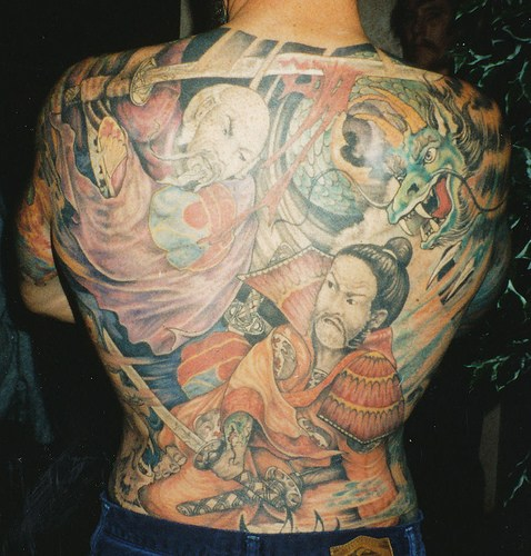 Full body tattoo images designs for Japanese body tattoo